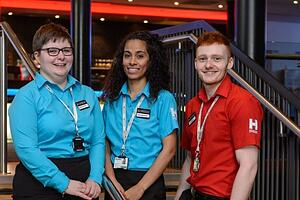 Birmingham Hippodrome staff